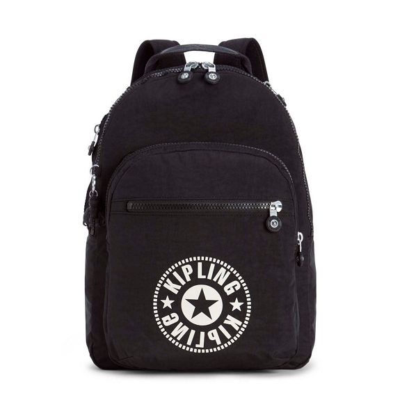 Seoul' Black large 'Clas backpack Kipling qgTwCEx