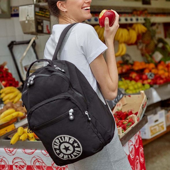 large Black Kipling 'Clas backpack Seoul' SRxH0Zqw