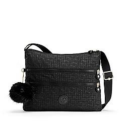 Kipling - Black 'Alvar' Medium Shoulder Crossbody Bag