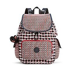 Kipling - Multi-Coloured 'City Pack' Small Backpack