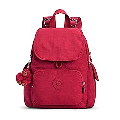 Kipling - Red 'City Pack' Mini Backpack
