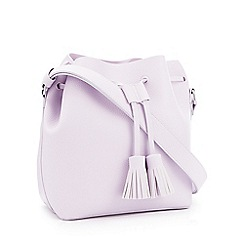 Faith - Lilac 'All Tassel No Hassle' Bucket Bag