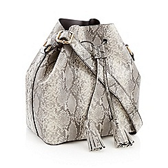 Faith - Multicoloured snake print drawstring duffle bag