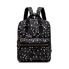 Radley - Dark Grey 'Cloud Hill' Large Zip-top Backpack