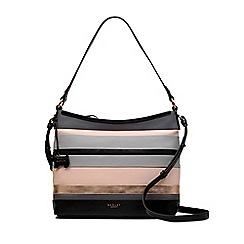 Radley - Multi-Coloured Leather 'Eaton Hall' Medium Zip-top Multiway Shoulder Bag