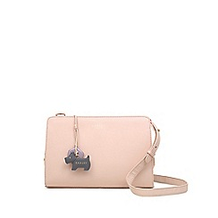 Radley - Light Pink Leather 'Liverpool Street' Medium Zip-top Crossbody Bag