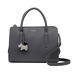 Radley Dark Grey Leather Liverpool Street Medium Multiway Grab Bag