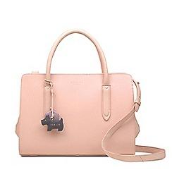 Radley - Light Pink Leather 'Liverpool Street' Medium Multiway Grab Bag