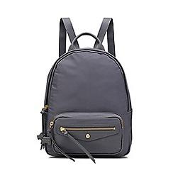 Radley - Dark Grey 'Merchant Hall' Medium Zip-top Backpack