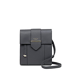 Radley - Dark Grey Leather 'Palace Street' Large Crossbody Bag