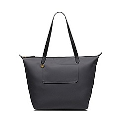 Radley - Dark Grey 'Pocket Essentials' Large Zip-top Tote Bag