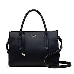 Radley - Black Leather 'Arlington Court' Medium Multiway Grab Bag
