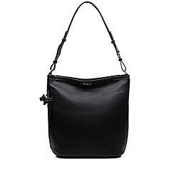 Radley - Black leather 'Patcham Palace' medium hobo bag