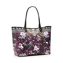 Star by Julien Macdonald - Purple jewel print shopper bag
