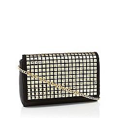 Star by Julien Macdonald - Black studded faux leather 'Kim' shoulder bag
