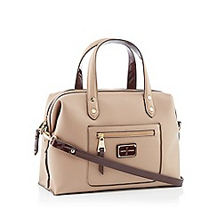 a9d0de205bfb J by Jasper Conran - Camel faux leather  Earlswood  bowler bag