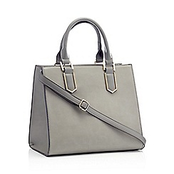 Non-leather - grey - Grab bags - Accessories - Women  643c16311c475