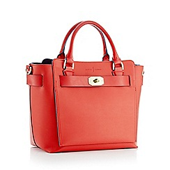 J by Jasper Conran - Red  Fitzrovia  belted grab bag 7b9614403bb9