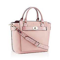 J by Jasper Conran - Pink 'Fitzrovia' Belted Grab Bag