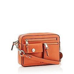 J by Jasper Conran - Orange 'Rome' Cross Body Bag