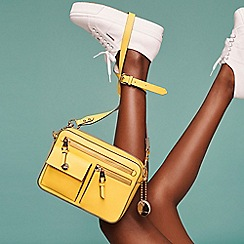 J by Jasper Conran - Yellow 'Rome' Cross Body Bag