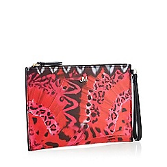 Star by Julien Macdonald - Pink animal print clutch bag