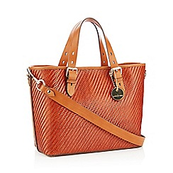 J by Jasper Conran - Tan Woven 'Monaco' Shopper Bag