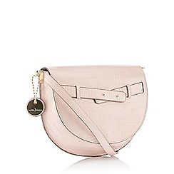 J by Jasper Conran - Pink Croc Effect 'Verona' Cross Body Bag