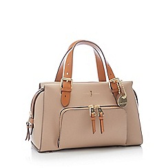 J by Jasper Conran - Camel Faux Leather 'Holland Park' Grab Bag