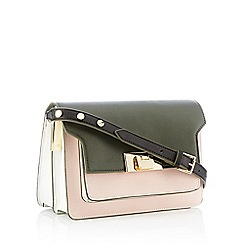 J by Jasper Conran - Olive 'Le Merais' Cross Body Bag