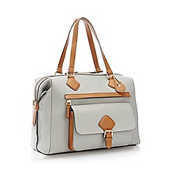J by Jasper Conran - Grey 'Strawberry Hill' Weekend Bag