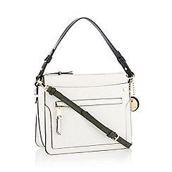 J by Jasper Conran - White 'Florence' Cross Body Bag