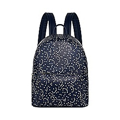 Juicy Couture - Navy star print 'Denver' backpack