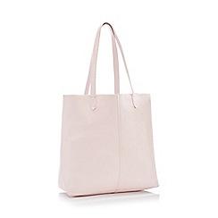Principles - Natural Unlined Leather Shopper Bag