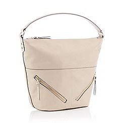 988dc8af7204 Principles - Cream Faux Leather  Maria  Hobo Bag