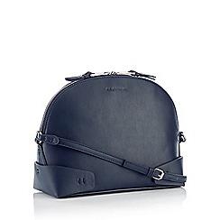 RJR.John Rocha - Navy Faux Leather 'Soho' Cross Body Bag