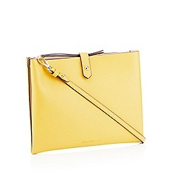 RJR.John Rocha - Mustard 'Northcote' Cross Body Bag
