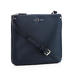 J by Jasper Conran - Navy faux leather 'Stockholm' cross body bag
