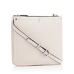 J By Jasper Conran Cream Faux Leather Stockholm Cross Body Bag