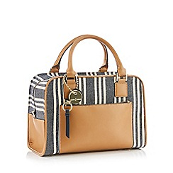J by Jasper Conran - Multicoloured Stripe 'Madrid' Bowler Bag