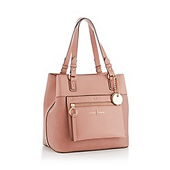 J by Jasper Conran - Pink  Cannes  hobo faux leather bag da988c4b3a83f