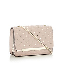 Star by Julien Macdonald - Pink Stud Quilted 'Gigi' Cross body bags