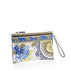 Star by Julien Macdonald - Multicoloured Scarf Print Clutch Bag