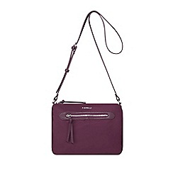 Fiorelli Wine Paige East West Crossbody Bag