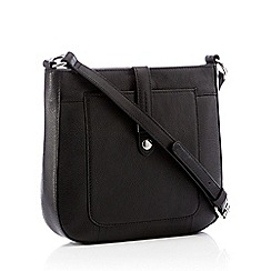Principles - Black Leather  Rachel  Cross Body Bag 3bbea4b57a445
