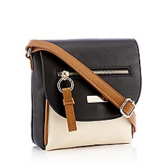 Principles - Multicoloured Front Zip Small Cross Body Bag