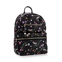 Faith - Multi Floral Print  Isla  Double Zip Backpack 7f94dff698