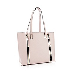 Faith - Dark Pink Faux Leather 'Isla' Shopper Bag