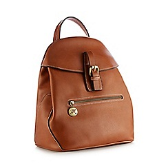 Mantaray - Tan Buckle 'Padstow' Backpack