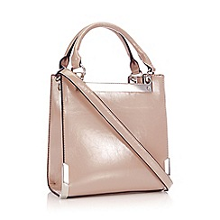 Faith - Light Pink Metal Corner 'Ava' Small Grab Bag